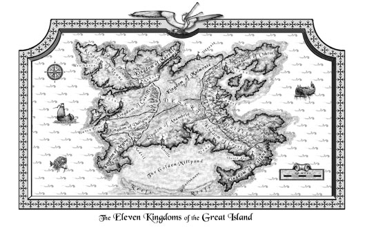The Eleven Kingdoms of Great Island